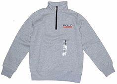 NWT Ralph Lauren Polo Sport Boys Half-Zip Fleece Pullover Large 14 16 #RalphLauren #SweatshirtPullover #Everyday