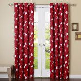 Found it at Wayfair - Large Star Grommet Curtain Panel