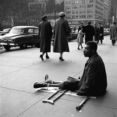 photos by Vivian Maier, 1955, New York, NY