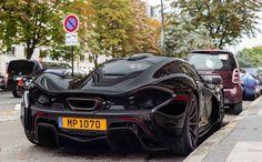 The New Black McLaren P1