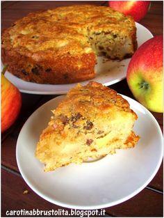 Carotina abbrustolita: Prima torta di mele vegan (senza grassi, davvero buona)