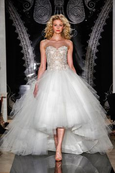 Reem Acra moda novias 2014
