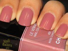 Chanel Rose Nail Polish