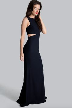 Power Cut-Out Gown Navy – arti gogna