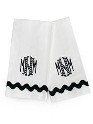 Runaway Ric Rac Towels - Set of 6