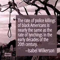 Imagine If White People Were Killed at these Alarming Rates by Black Cops.  #BlackLivesMatter #PoliceThePolice