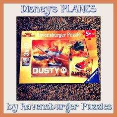 Holiday Gift Guide: Planes Fire & Rescue Puzzles By Ravensburger Puzzles Plus GIVEAWAY 9/30 - Newly Crunchy Mama Of 3