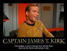 Captain Kirk :D