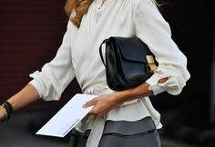 Celine Box Bag -> u be lying if you do not wan a celine box bag! timeless and chic