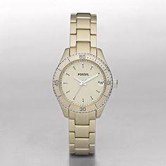 Stella Mini Aluminum Watch - Champagne  $115.00