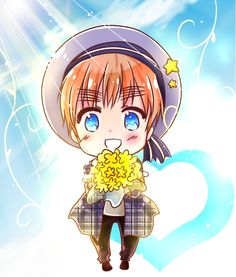 every year on Valentine's day, Sealand anonymously sends flowers to Liechtenstein.  He's had a crush on her for ages. He hopes that one day she'll be able to figure out it's him sending the flowers and for her to see him as a country. But he knows that's wishful thinking. this is a cute head canon :3