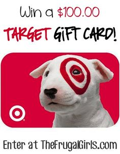 Target Gift Card - good idea to draw people to your blog or website!