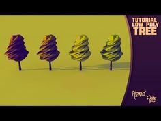 The Low Poly Tree Collection - Abstract Arts on Behance