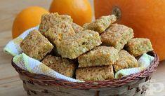 Тиквени бисквитки с орехи - изображение