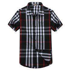Burberry Men Shirt 2014-2015 BTS157