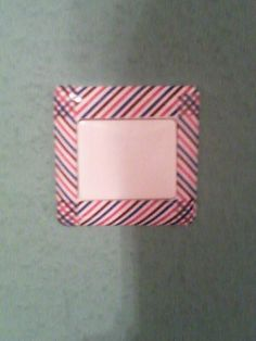 """Mein ERSTES Washi tape """" experiment"""" XD"""