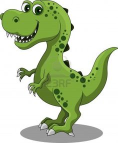 Dinosaur cartoon Stock Photo