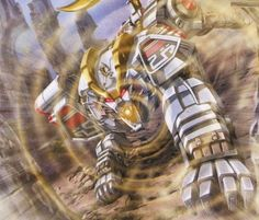 White Ranger Tiger Zord