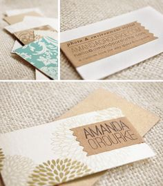 Before the days end I need to show off my new business cards! I was all about the variety...