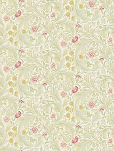 Morris and Co's Leicester  is taken from the Archive II Wallpapers wallpaper collection.