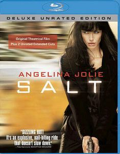 Availability: http://130.157.138.11/record=b3718656~S13 Salt / written by Kurt Wimmer ; directed by Phillip Noyce. As a CIA officer, Evelyn Salt swore an oath to duty, honor and country. Her loyalty will be tested when a defector accuses her of being a Russian spy. Salt goes on the run, using all her skills and years of experience as a covert operative to elude capture.