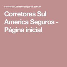 Corretores Sul America Seguros - Página inicial