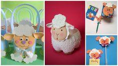 Todo tipo de manualidades con ovejitas en foami ~ Mimundomanual