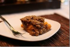 Vegan Sweet Potato Casserole Recipe from @Angela Liddon
