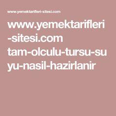 www.yemektarifleri-sitesi.com tam-olculu-tursu-suyu-nasil-hazirlanir