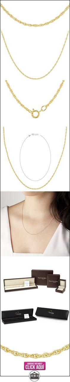 Carissima Gold Collar unisex con oro amarillo de 9 quilates (375/1000), 46 cm  ✿ Joyas para mujer - Las mejores ofertas ✿ ▬► Ver oferta: http://comprar.io/goto/B004YHXF84