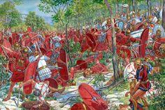 Batalla de Boviano 305 a.c. de Igor Dzis.
