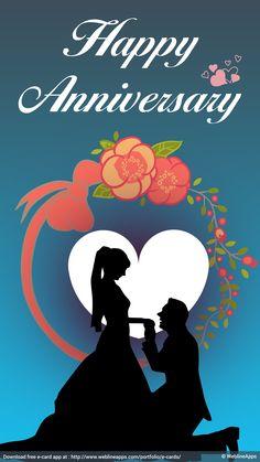 Marriage Anniversary Cards, Happy Wedding Anniversary Wishes, Happy Anniversary Cakes, Anniversary Greetings, Birthday Wishes Quotes, Happy Birthday Greetings, Birthday Blessings, Happy Aniversary, Happy Birthday Flower