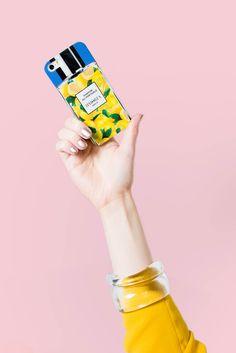 "Parfum Au Portable ""Citrus"" for iPhone 4/4S and iPhone 5/5S"