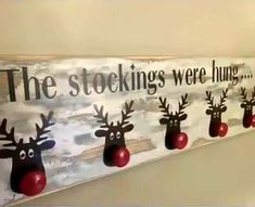 The Stockings Were Hung ~ Too Cute