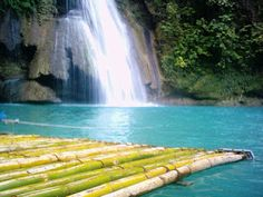 Kawasan falls Kawasan Falls, Jollibee, Tourist Spots, Asia Travel, Travel Guides, Philippines, The Good Place, Waterfall, Island