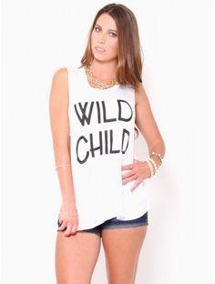 Wild Child Muscle Tank