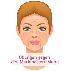 Facial in Gesicht und Mund der blonden Deutschen
