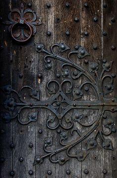 Lichfield, England - I love the door's hardware!