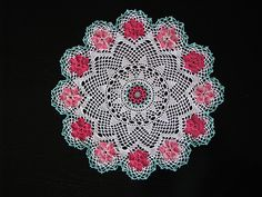 Ravelry: Wild Rose Doily pattern by American Thread Company