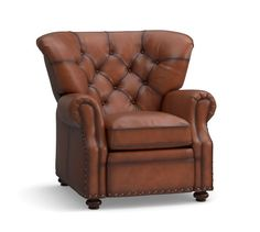 Lansing Leather Recliner Polyester Wrapped Cushions Signature Whiskey  sc 1 st  Pinterest & The Best Selection of Recliners Near Atlanta GA | Home An and ... islam-shia.org