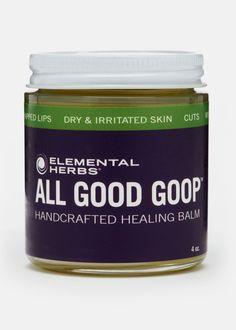 All Good Goop Healing Balm -- Lavender Scent Elemental Herbs