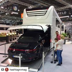 #Repost @hashtagrvmag with @get_repost  How About this Empire Liner from Morello? Yours for about US$60000 (not inc the Porsche)...  #düsseldorf #rv #toyhauler #porsche #imotorhome #campervan Toy Hauler, Campervan, Porsche, This Is Us, Empire, Magazine, Instagram, Porch, Magazines
