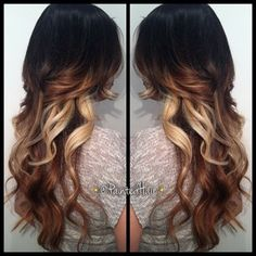 I want to do this when I get older! Dye my hair this way and get a perm!