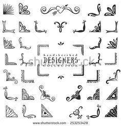 Decorative corners collection-