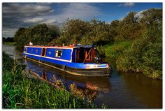 What a wonderful way to live! Traveling the canals in an English Narrow Boat!