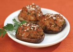 These sausage-stuffed mushrooms are spiced up with traditional Thai flavors for an easy-to-serve, bite-size treat.