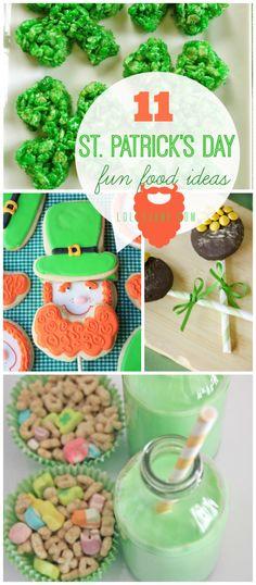 11 St Patrick's Day food ideas |via lollyjane.com #stpatricksday #food