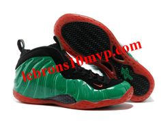 Nike Air Foamposite One Green/Black/Red