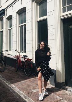 Feeling Spanish in my polka dot skirt 💃🏽♥️ I miss home so much... @meriturrado