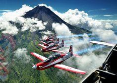 Jupiter Aerobatic Team - Indonesian Air Force.